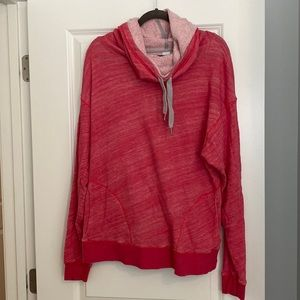 Pink hooded sweatshirt from Nordstrom with pockets